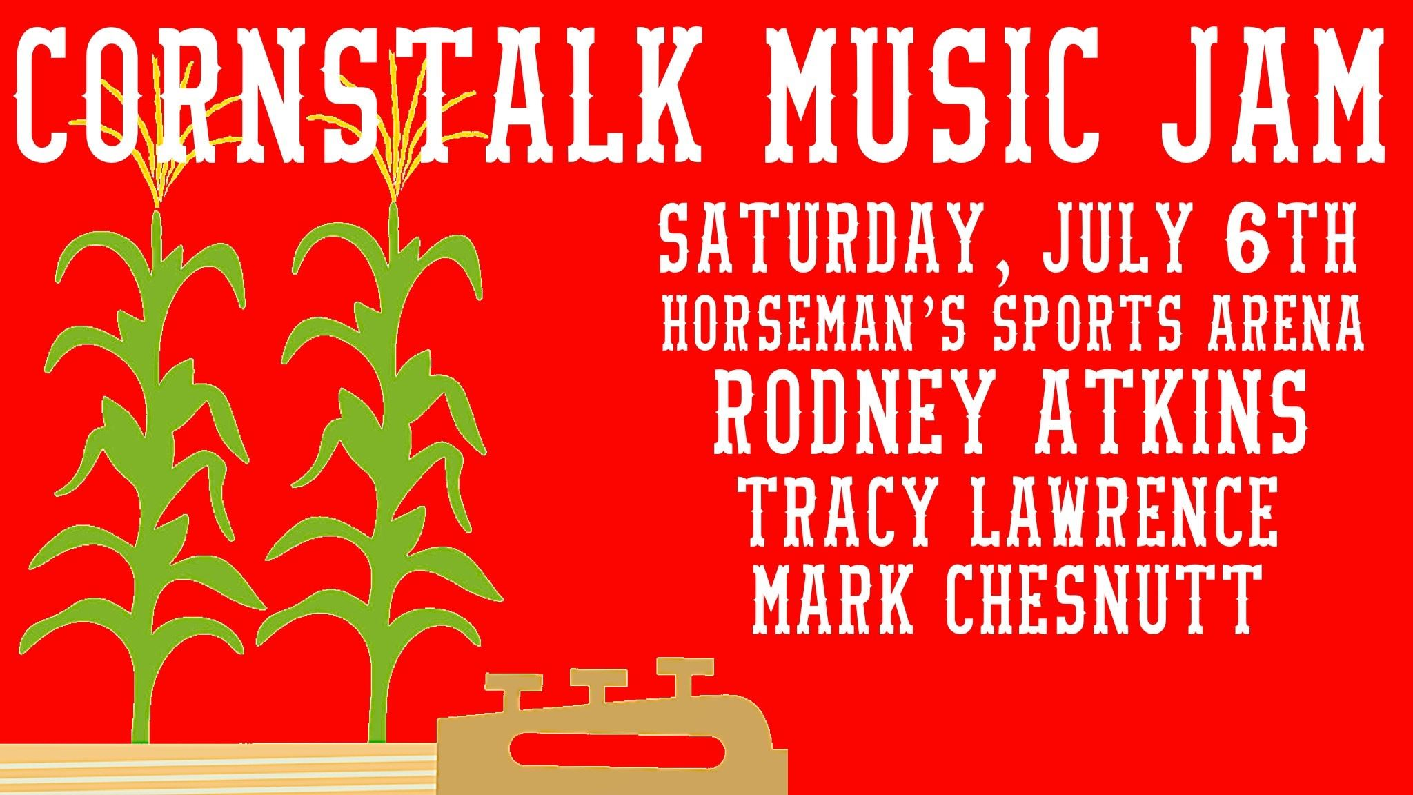 cornstalk music flyer