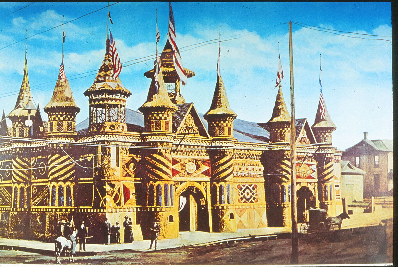 An image of the Corn Palace from 1892.