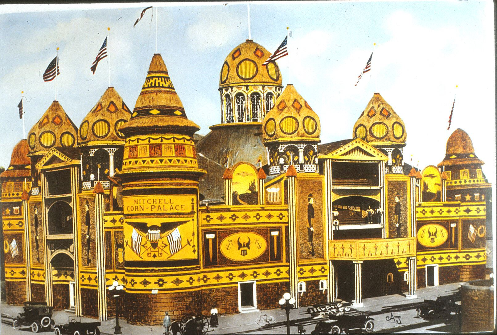 An image of the Corn Palace from 1916.