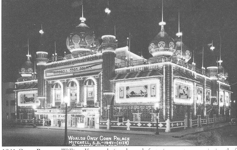 An image of the Corn Palace from 1941.